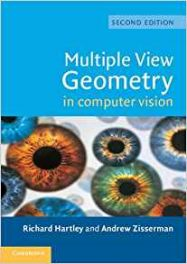Book Review: Multiple View Geometry in Computer Vision, 2rd edition