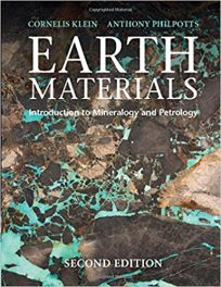 Book Review: Earth Materials – Introduction to Mineralogy and Petrology, 2nd edition