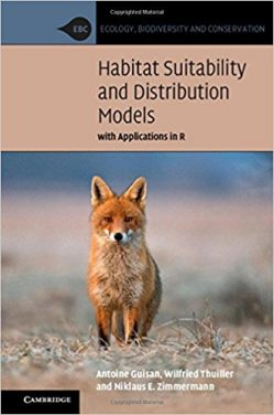 Book Review: Habitat Suitability and Distribution Models, With Applications in R