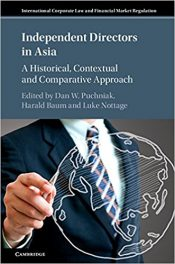 Book Review: Independent Directors in Asia – A Historical, Contextual, and Comparative Approach