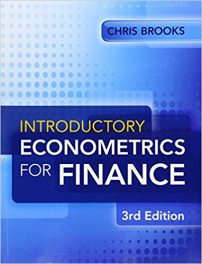 Book Review: Introductory Econometrics for Finance, 3rd edition