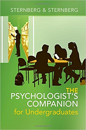 Book Review:  The Psychologist's Companion for Undergraduates – A Guide to Success for College Students