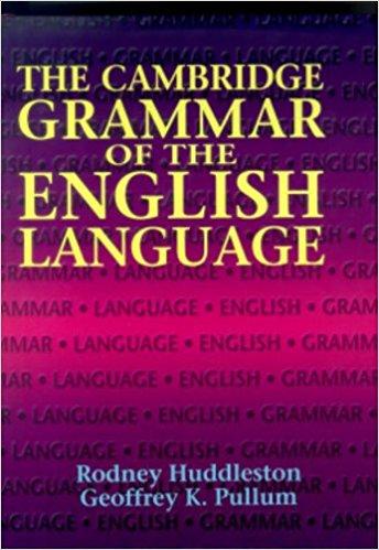 Book Review: Cambridge Grammar of the English Language