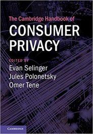Book Review: The Cambridge Handbook of Consumer Privacy