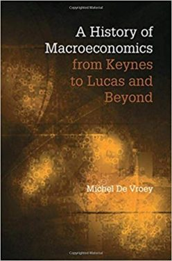 Book Review: A History of Macroeconomics from Keynes to Lucas and Beyond