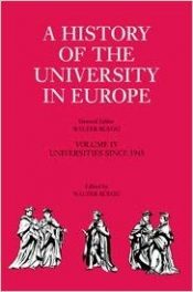 Book Review:  A History of the University in Europe, Volume IV