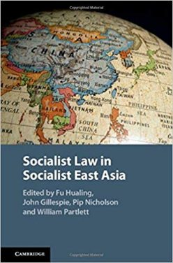 Book Review: Socialist Law in Socialist East Asia