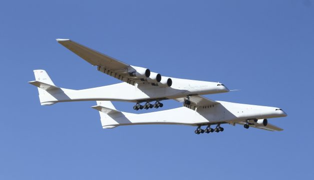 World's Largest Airplane Makes Test Flight Today