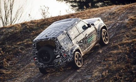 The New Land Rover Defender Is Officially Coming  To America and It Looks Like a Real Off-Roader