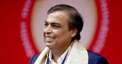 Ambani: Ist Indian in global top 10 rich list