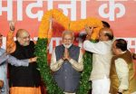 Modi Dedicates Victory to Indians