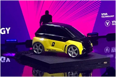 All-electric Bolt B-Nano revealed as two-seat urban transport