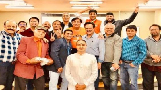 Overseas Friends of BJP-USA Celebrate Modi's Overwhelming Victory in Lok Sabha Election
