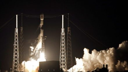 SpaceX has launched the first 60 satellites of its space internet system