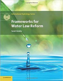 Book Review: Frameworks for Water Law Reform
