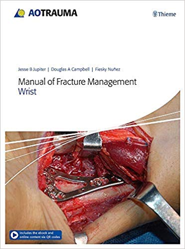 Book Review:  Manual of Fracture Management – Wrist