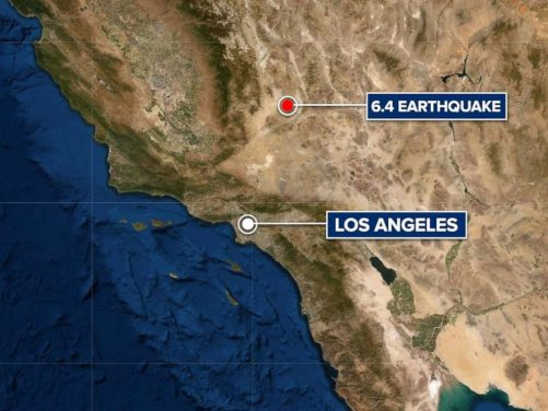 Biggest earthquake in 20 years rocks Southern California, strong aftershocks expected