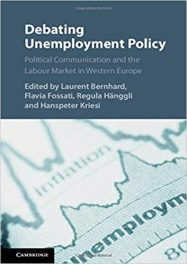 Book Review: Debating Unemployment Policy – Political Communication and the Labor Market in Western Europe