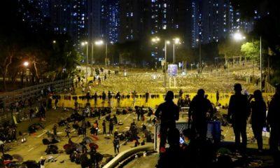 Hong Kong protests: foreign students start  to leave as unrest shifts to universities