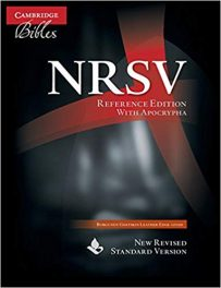 Book Review: New Revised Standard Version (NRSV) Bible: NRSV with Apocrypha