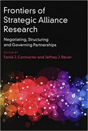 Book Review: Frontiers of Strategic Alliance Research -Negotiating, Structuring, and Governing Partnerships