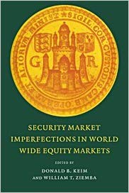 Book Review: Security Market Imperfections in Worldwide Equity Markets