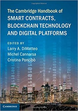 Book Review: Smart Contracts, Blockchain Technology, and Digital Platforms