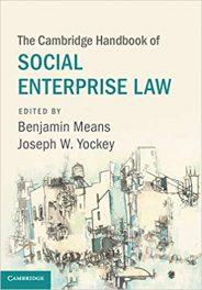 Book Review: Cambridge Handbook of Social Enterprise Law