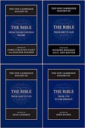 Book Review: The New Cambridge History of the Bible, 4 Volumes