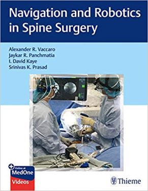 Book Review: Navigation and Robotics in Spine Surgery