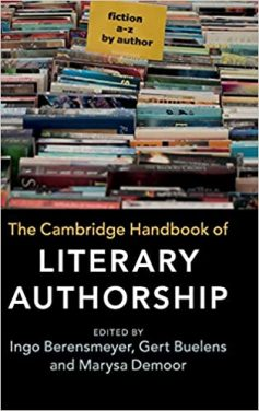 Book Review – Cambridge Handbook of Literary Authorship