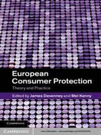 Book Review – European Consumer Protection – Theory and Practice