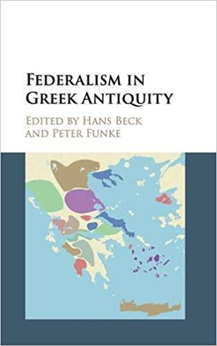 Book Review – Federalism in Greek Antiquity