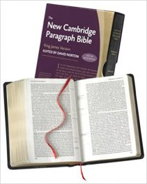 Book Review: New Cambridge Paragraph Bible – King James Version with Apocrypha